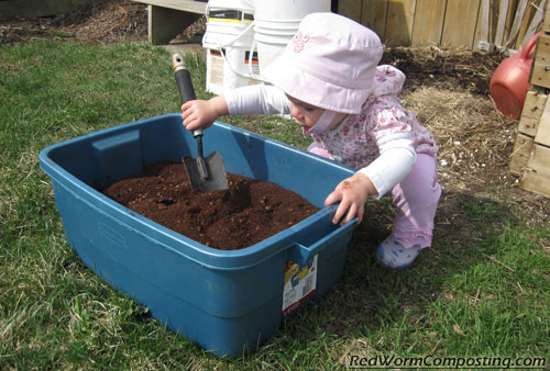 Mixing Coffee Grounds