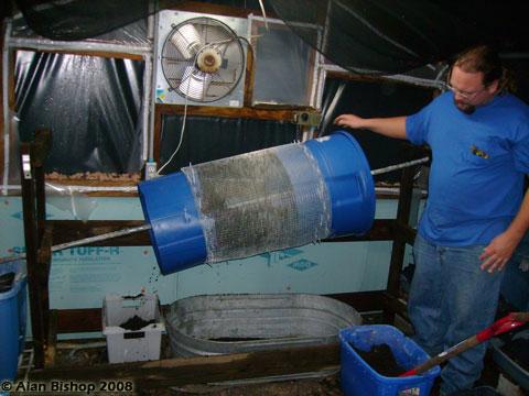 Diy Worm Harvester Red Worm Composting