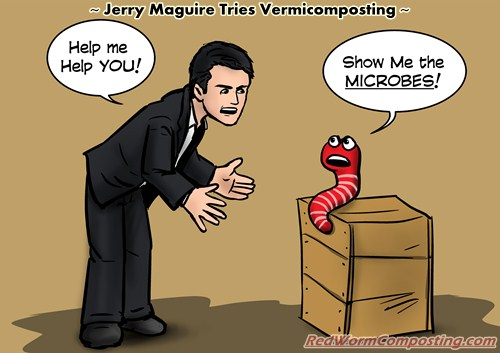 The Vermi Humor Challenge Red Worm Composting