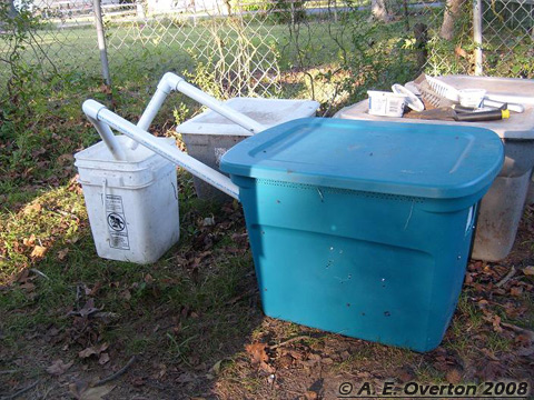 DIY Black Soldier Fly Larvae Harvesting Bin