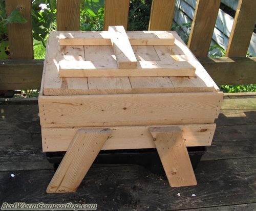 Wooden Stacking Worm Bin