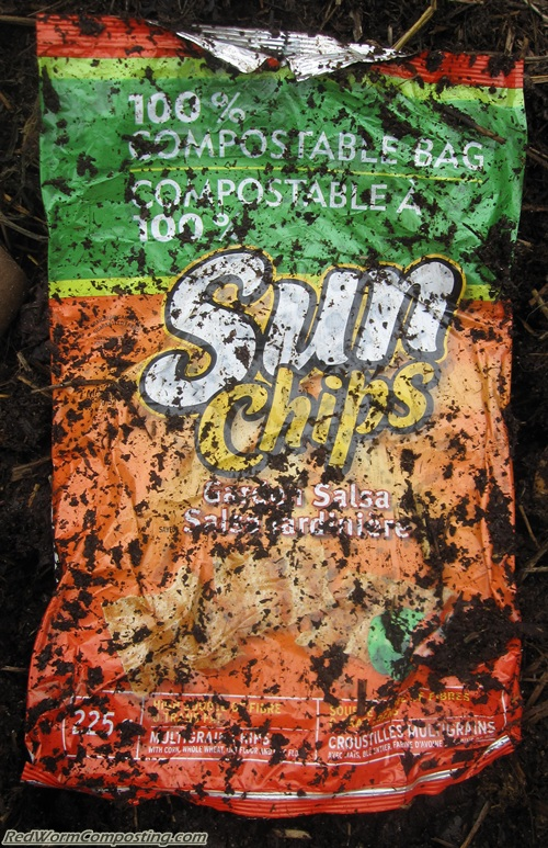 Sun Chip Bag Vermicomposting