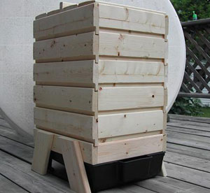 Woodwork Wood Worm Bin PDF Plans